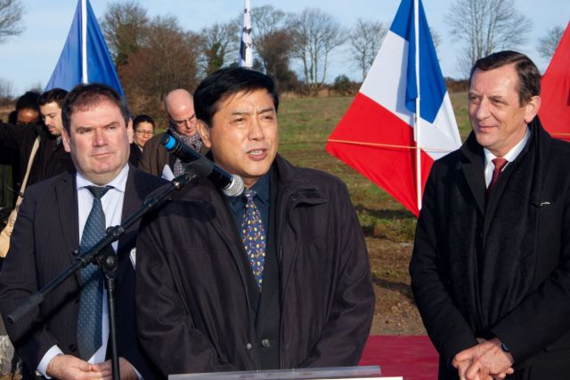 - Discours de M. Liang Zhang, P-DG du groupe Synutra Int.<br/>