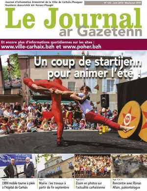 N°124 : Journal municipal de juin 2019
